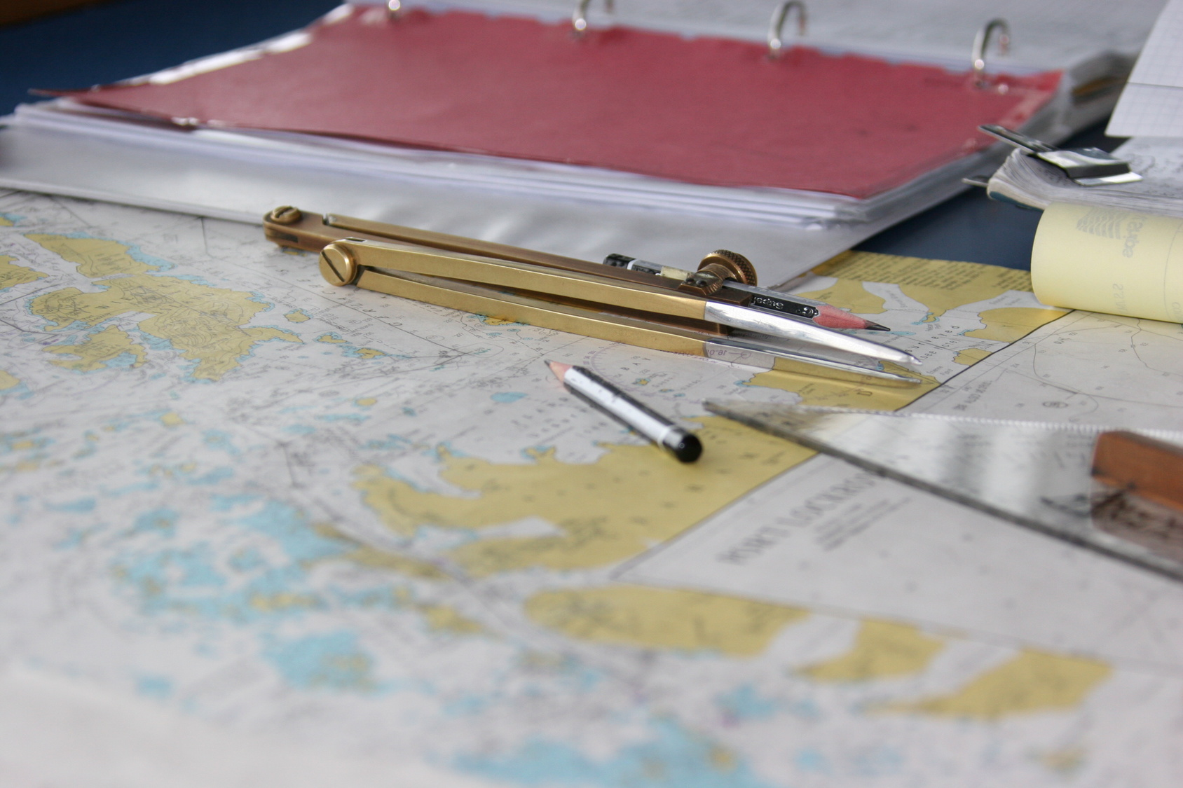 carte plan orientation mer