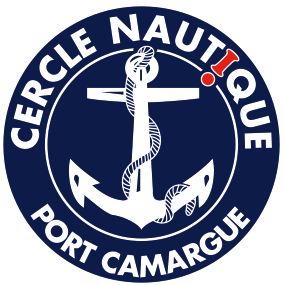 Logo bateau école cercle nautique Port Camargue