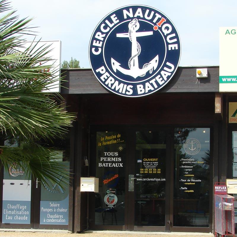 Présentation cercle nautique bateau école