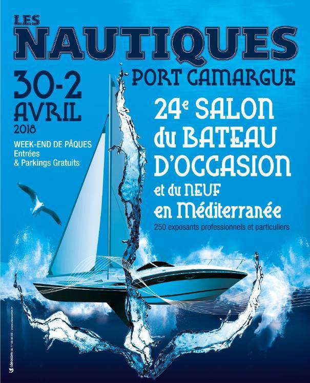les nautiques port Camargue 24e salon du bateau