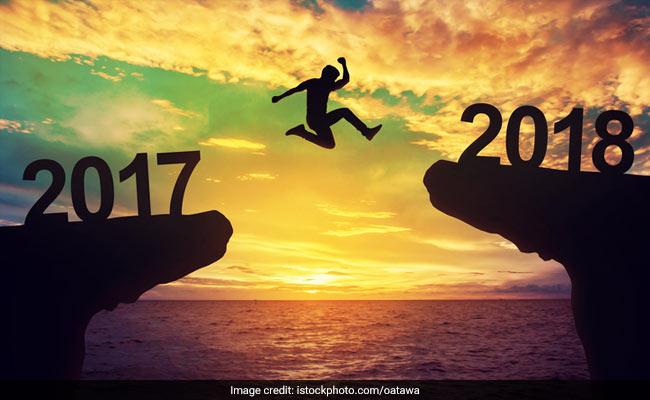nouvelle année 2017 à 2018
