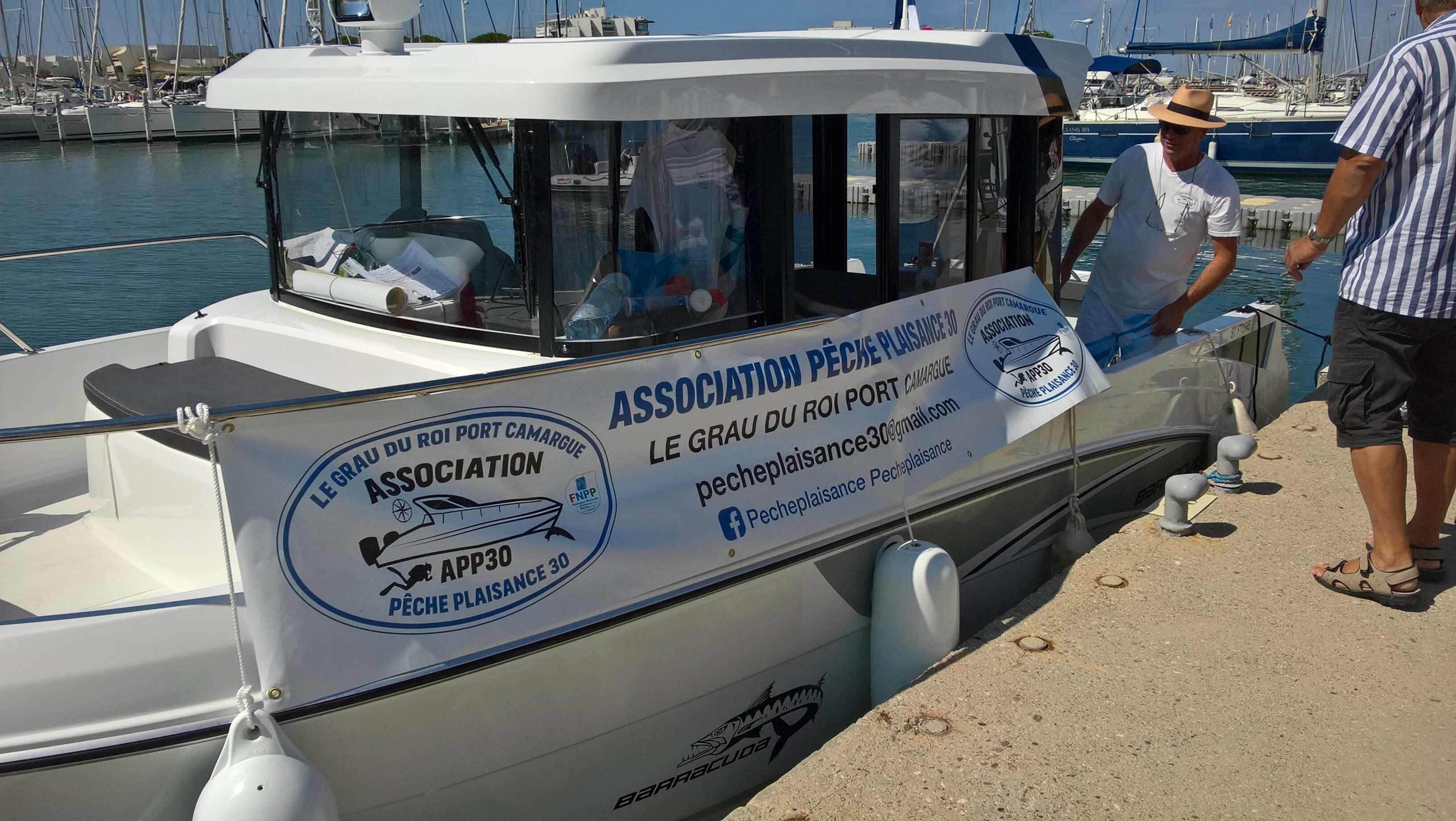 bateau association pêche plaisance le grau du roi