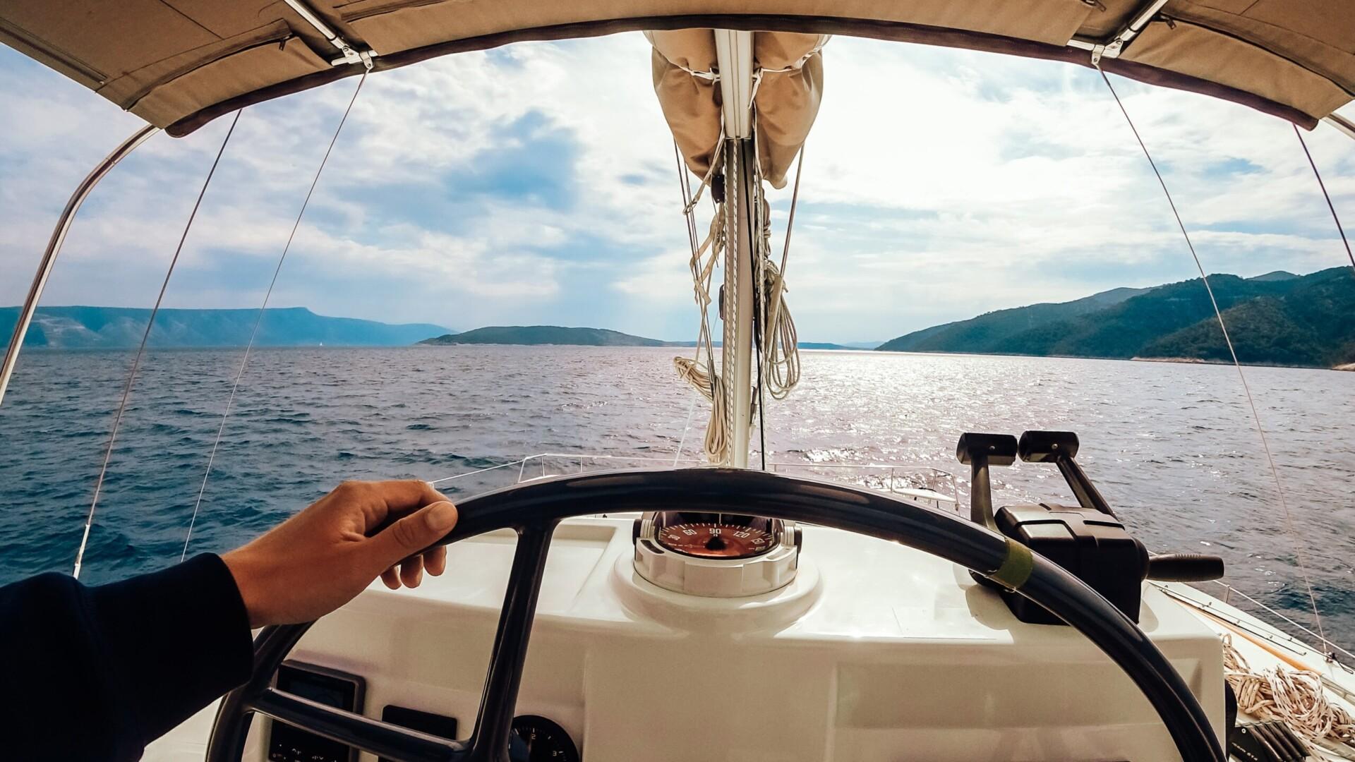 effectuer une formation manœuvre et navigation avec permis bateau